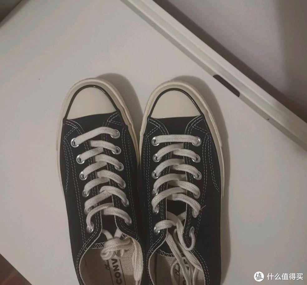 诠释青春道路,亲测匡威低帮帆布鞋