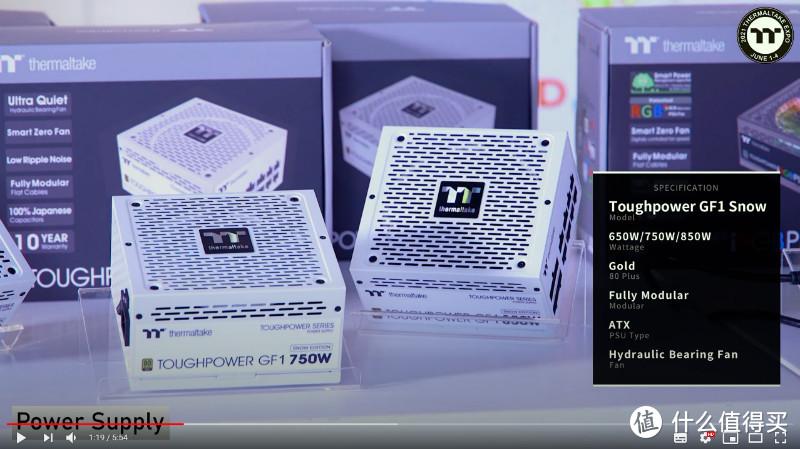 曜越Tt发布顶级Toughpower iRGB PLUS Titanium 和 Toughpower GF1 Snow 系列电源