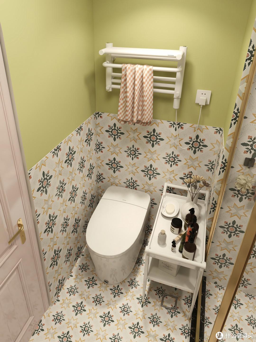 浴室装修设计,悬挂式浴室柜,颜值和实用性并存!