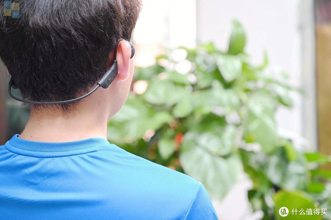 轻巧的骨传导耳机,真是跑步健身好搭档,南卡Runner CC二代上手