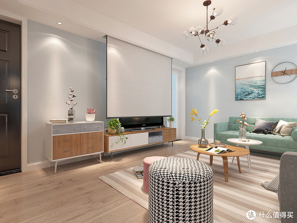 """她家的新房装修,选择北欧风格,整洁到""""一尘不染"""",精致又耐看"""