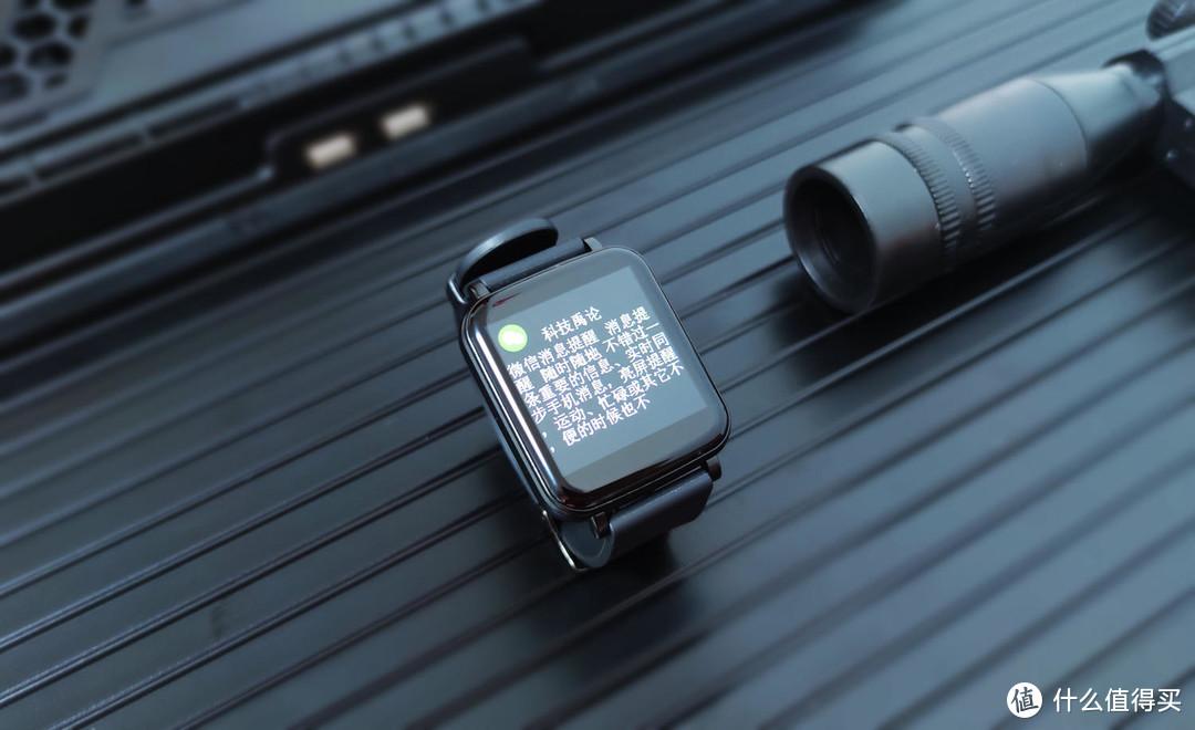 aigo小方块智能手表开箱,轻薄机身无感佩戴,炫彩大屏要你好看