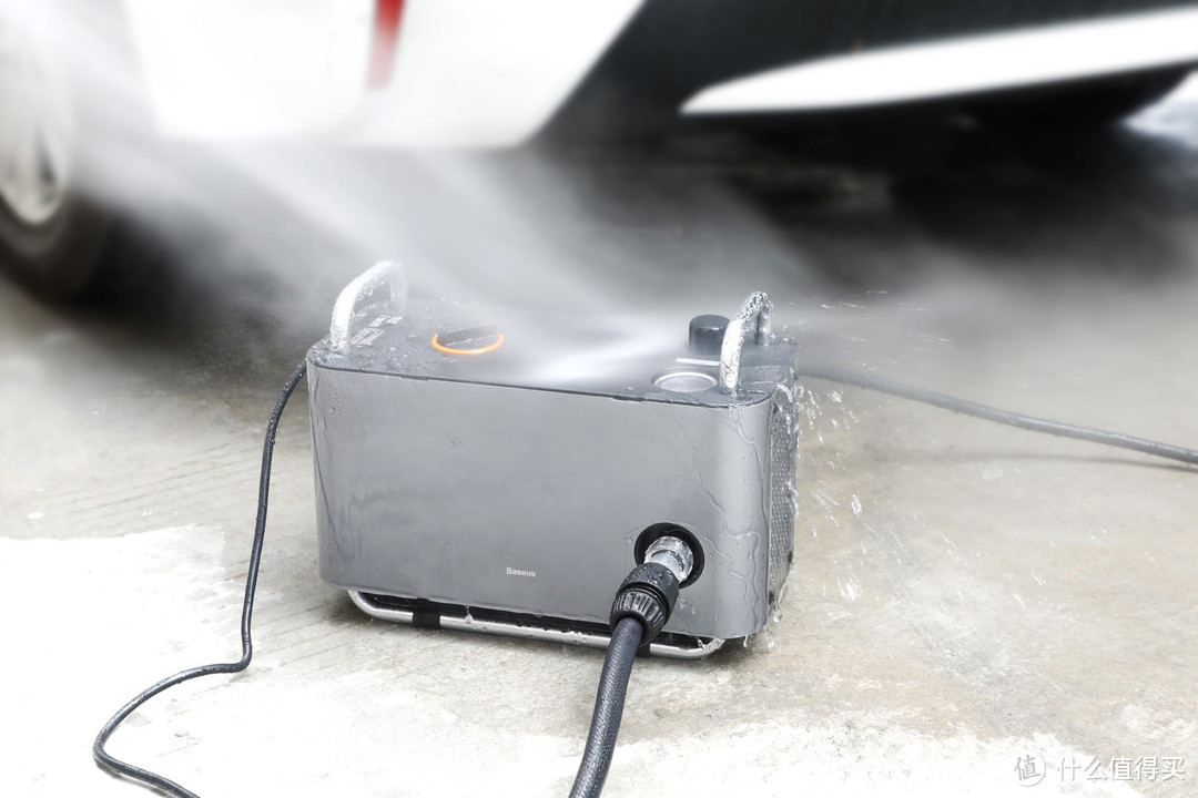 配件丰富,功能强大,倍思F1高压洗车机体验