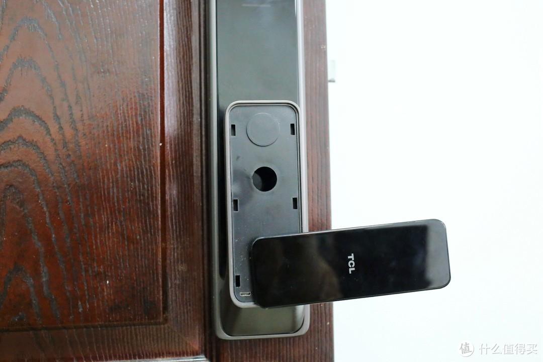 TCL智能门锁,摆脱钥匙,简单开门