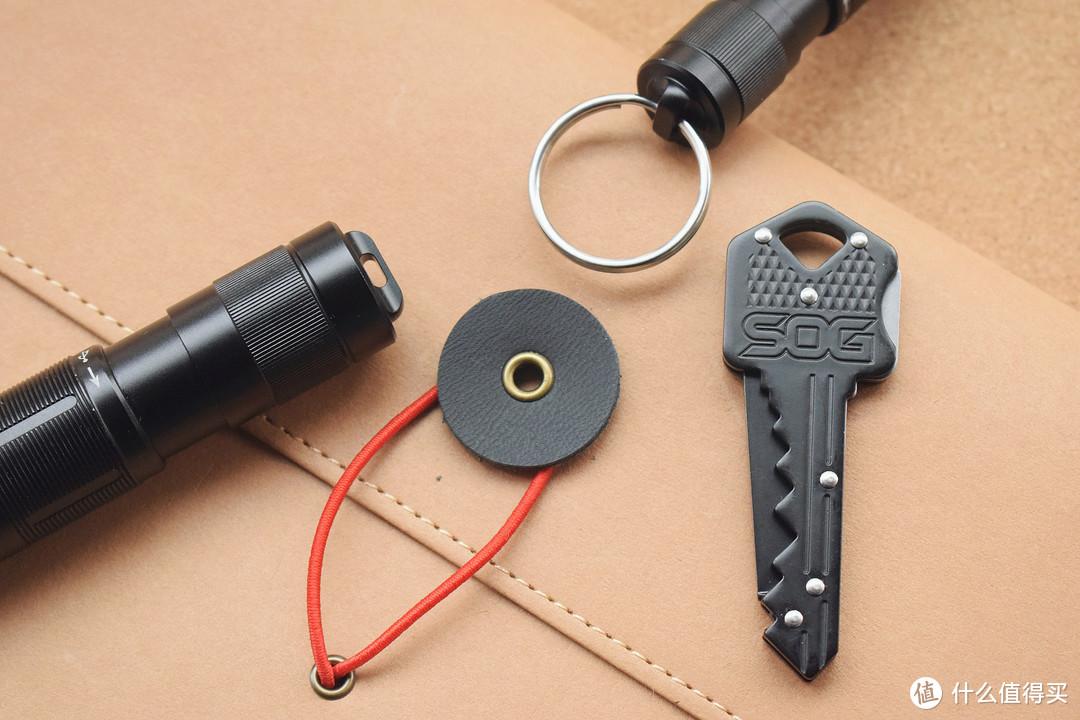 随身出行EDC必备,Fenix E05R/E09R钥匙手电评