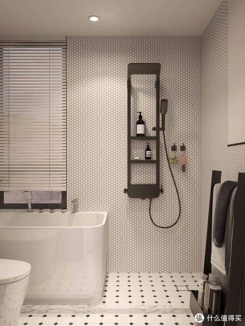 温柔轻法式设计 选花洒看这6条 畅快淋浴