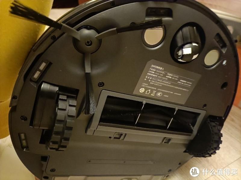 360扫地机器人 隐藏雷达机身薄 家务终结者