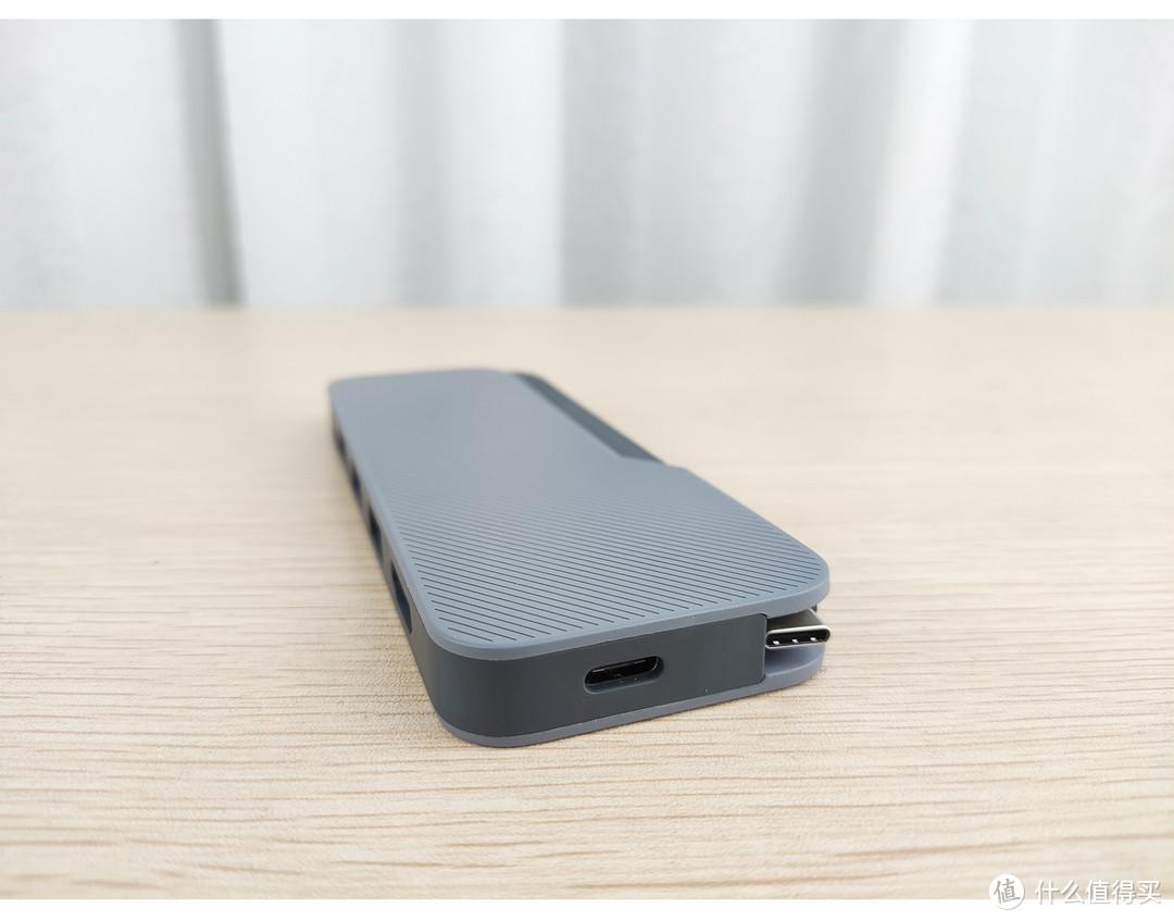 轻薄本差旅搭档小新USB-C五合一度功能拓展坞lite版细节说明