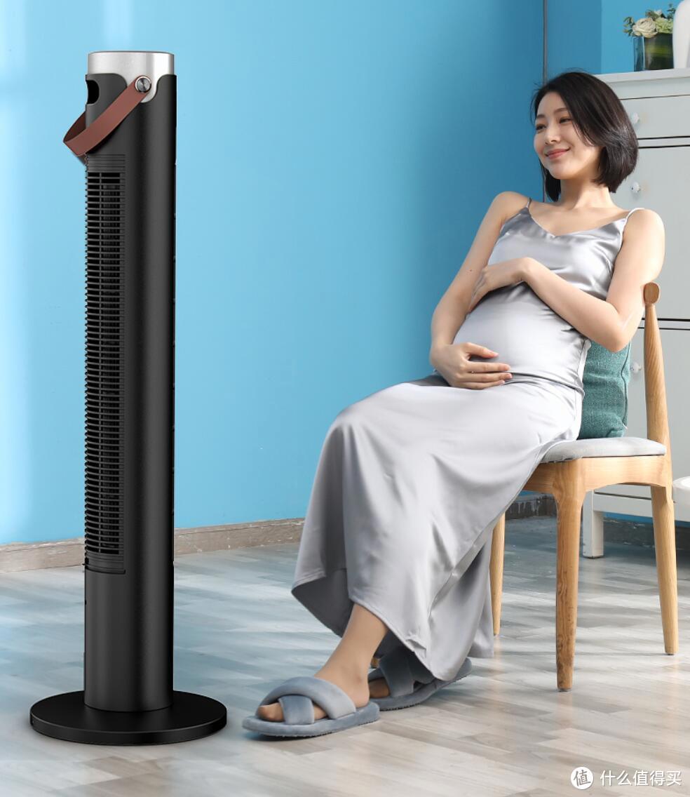 夏天室内开空调,需要这款飞利浦无叶塔扇搭配着用才舒服