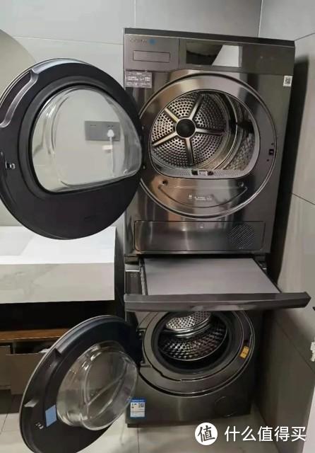 高效清洗,AI烘干,COLMO星图系列洗烘套装开启洗衣烘干新模式