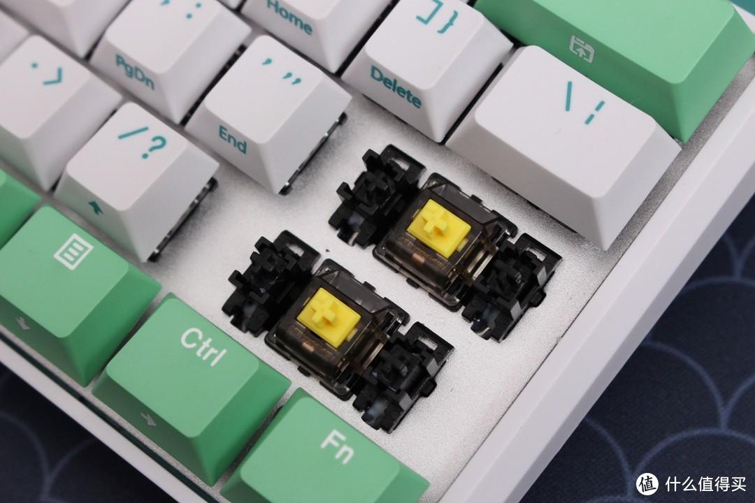 夏日中的薄荷糖——杜伽K330w三模机械键盘评测