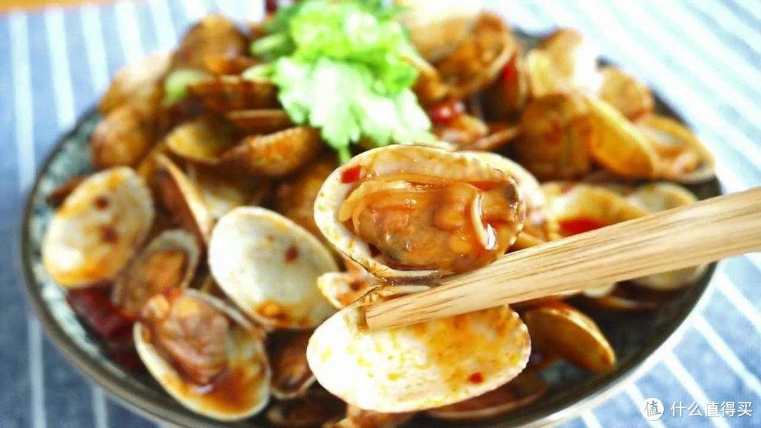 自制辣炒花蛤,鲜辣味美,吐沙也非常干净