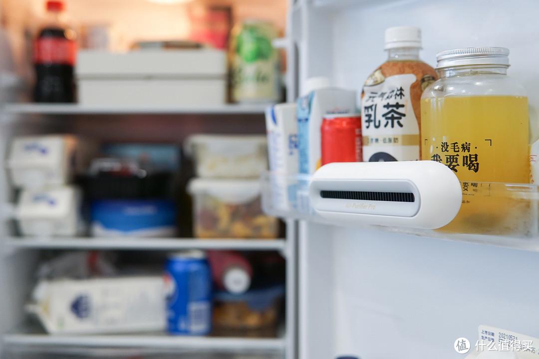 《到站秀》守护舌尖上的安全 EraClean世净冰箱除味杀菌器Max