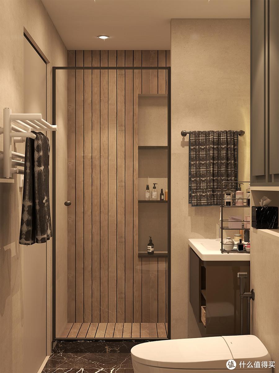 浴室、客厅这样装,简约轻奢不过时,婆婆都夸好