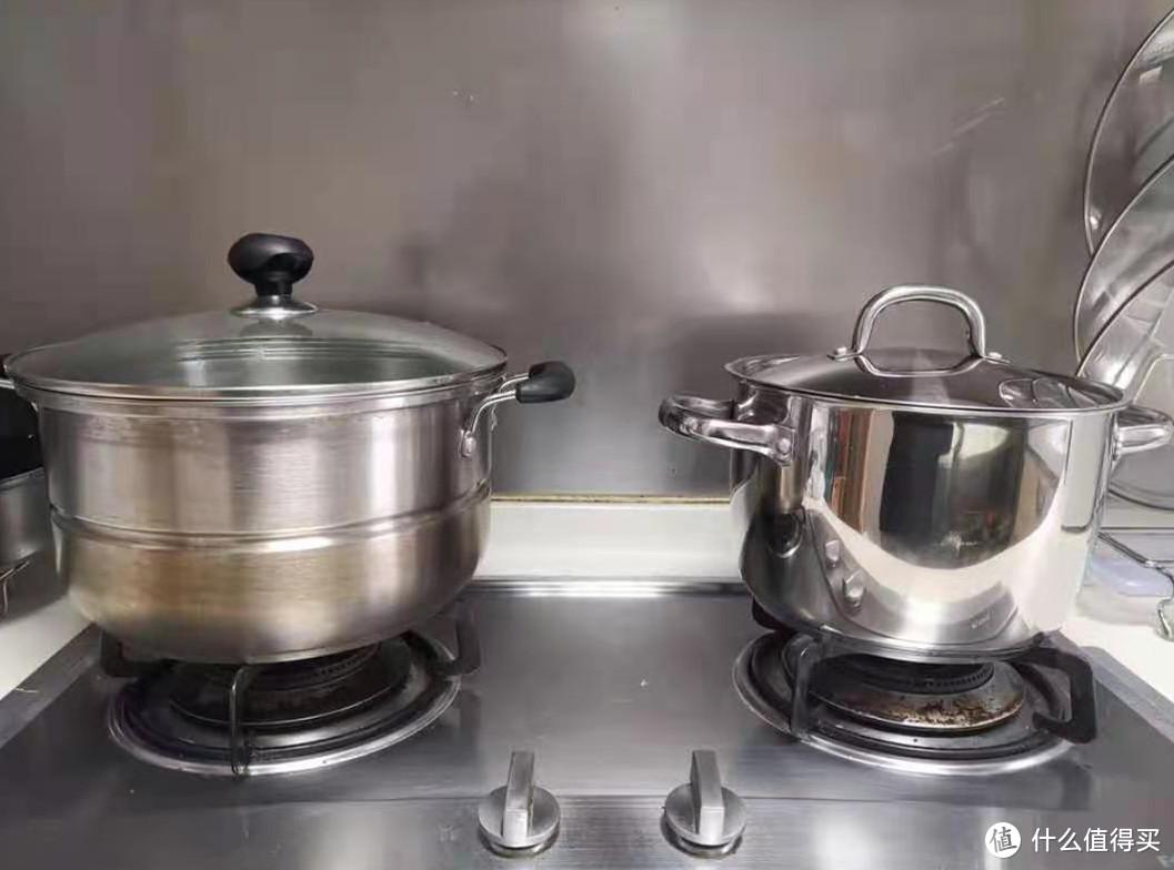 厨具清洗后