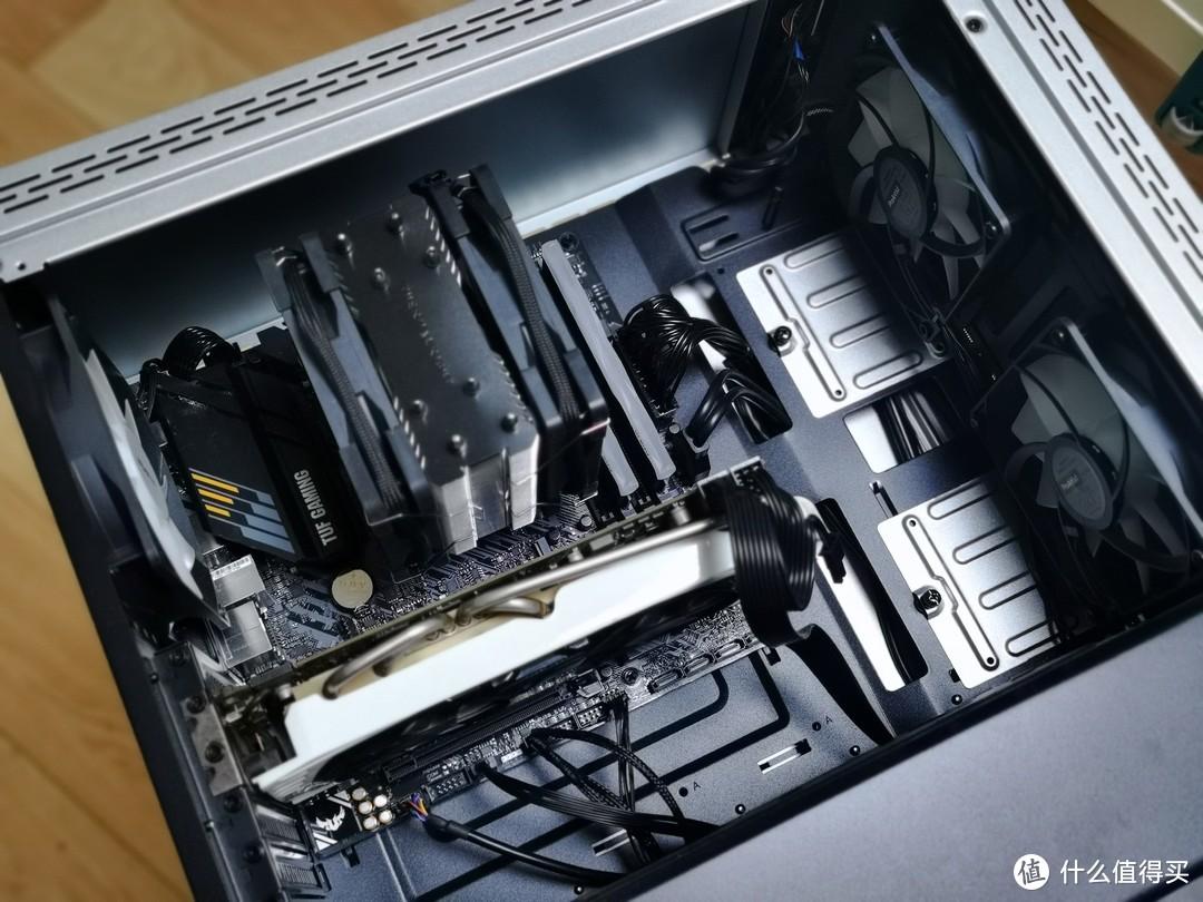 AMD 5600x 装机 & PBO2超频过程 & 华硕神光