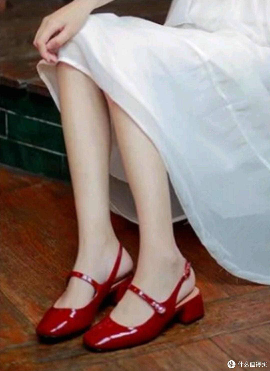今夏超吸睛红色玛丽珍鞋,快来唯品会一键get