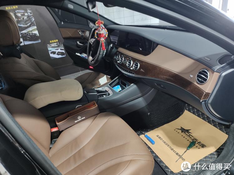 奔驰老款S级222改座椅通风,更舒适的驾乘感受