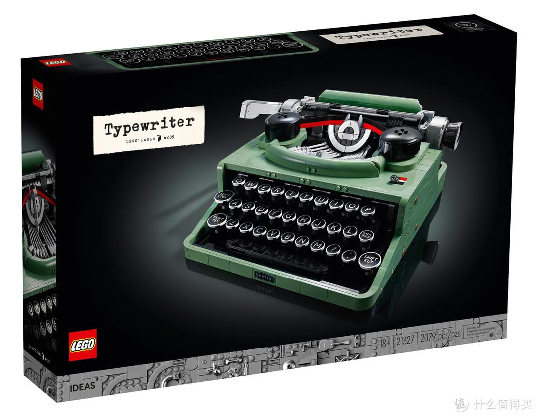 灵感源自乐高创始人:IDEAS系列21327 打字机即将发售