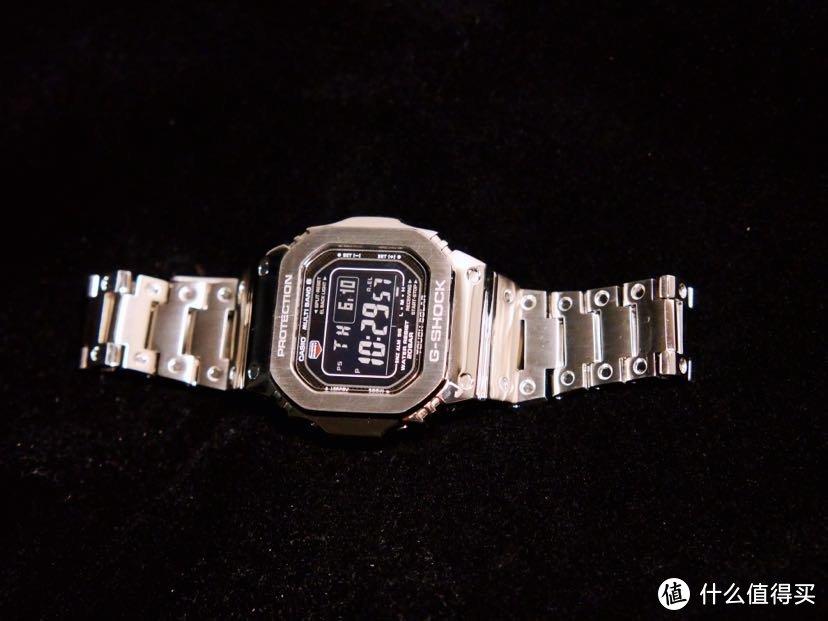 卡西欧GW-M5610-1B小银块,帅就完了