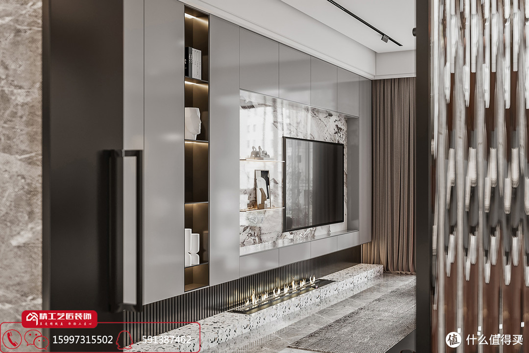 襄阳装修案例分享 弘阳襄御澜庭126平现代简约优雅与大气