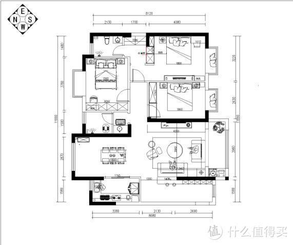 襄阳装修案例:骧龙国际133平现代简约精工艺匠装饰出品