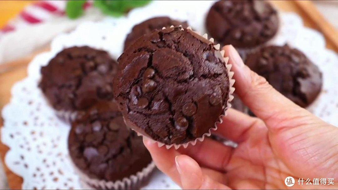 巧克力麦芬,喜欢巧克力的一定要试试,超简单
