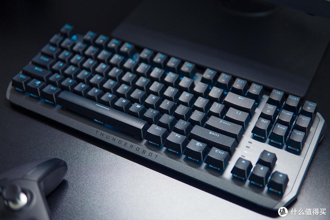 双模87键,雷神键盘KL5087R简单上手~~