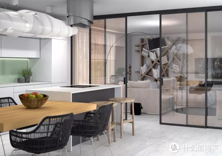 厨房门窗总是不顺手?最全攻略看这里!「高颜值」又好用的餐厨空间Get!