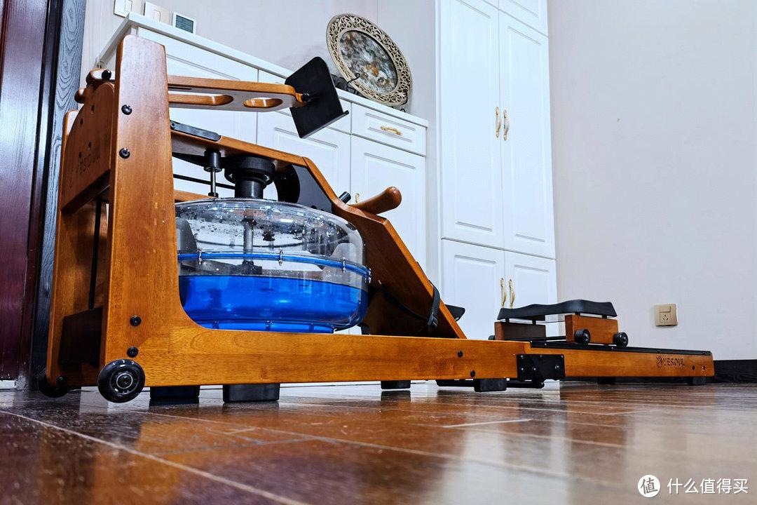 居家高效健身的选择,野小兽智能划船机R30折叠款