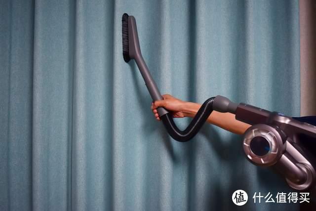 用国货我自豪!上手把、可弯折设计更省力,华为智选吉米无线吸尘器HA5上手