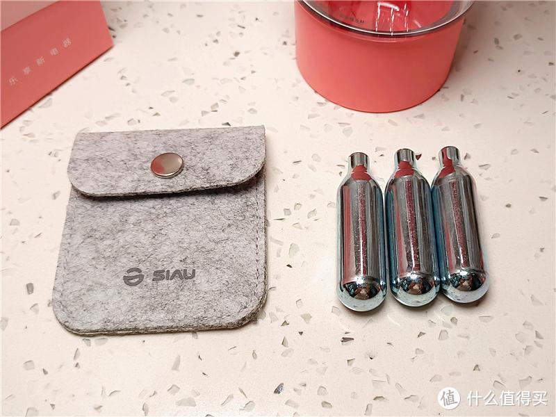 3秒自制气泡水,夏日饮品轻松享——诗杭/SIAU元气气泡果汁杯测评