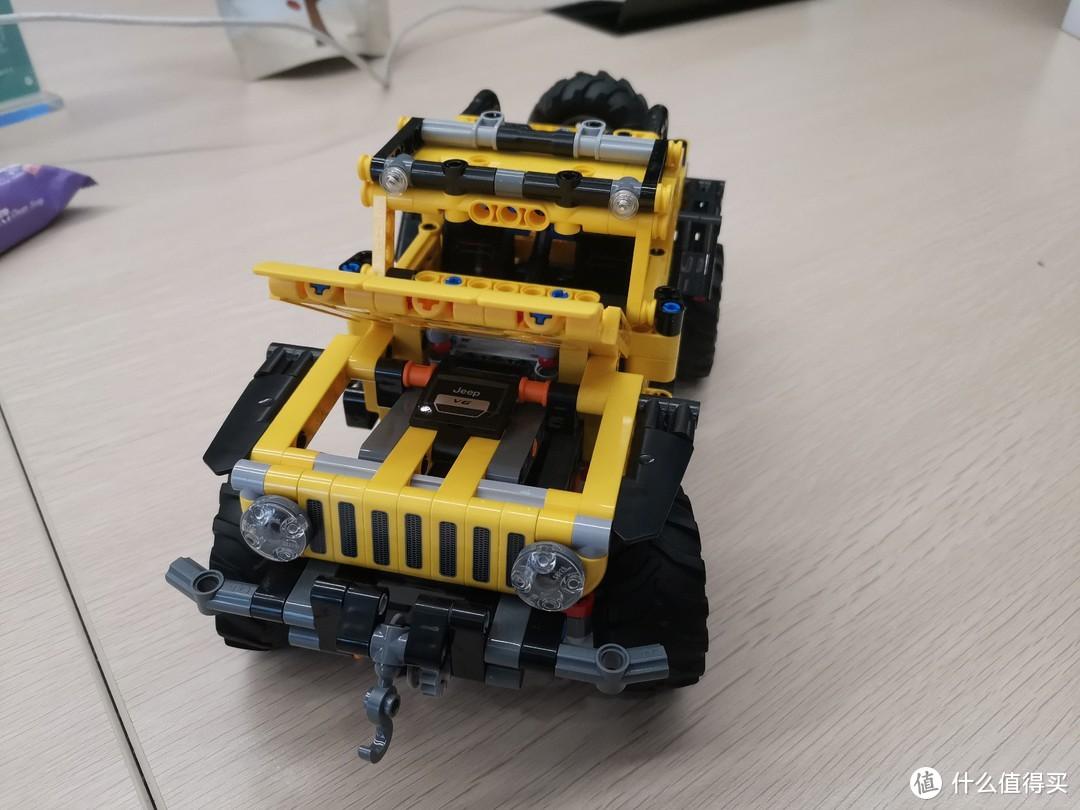 LEGO 机械组系列 42122 JEEP 牧马人评测