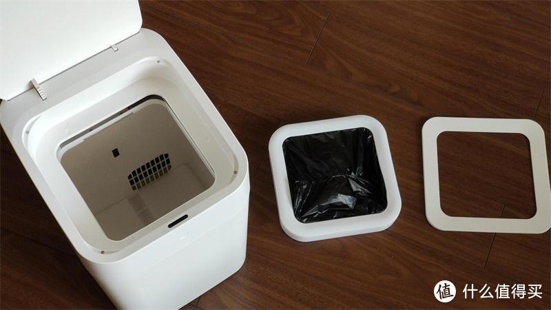 一指打包、浮手开合,拓牛智能垃圾桶T1体验