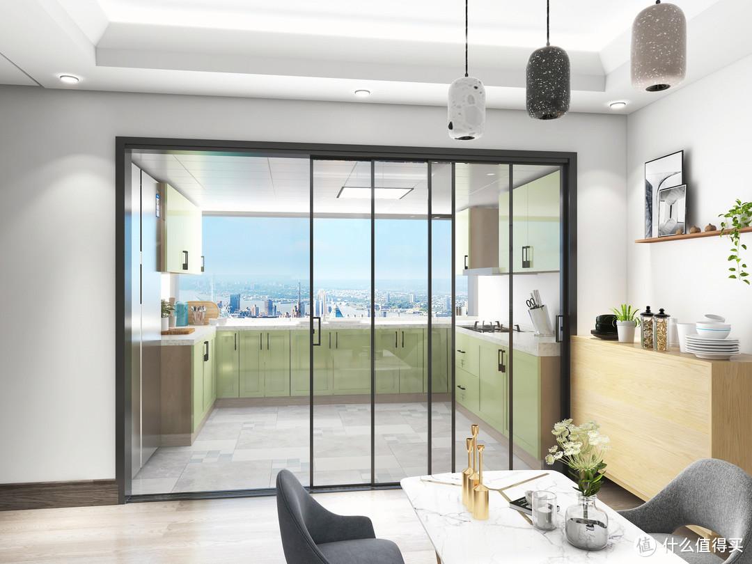 极简门窗,诠释精致生活之美,满满的高级感!
