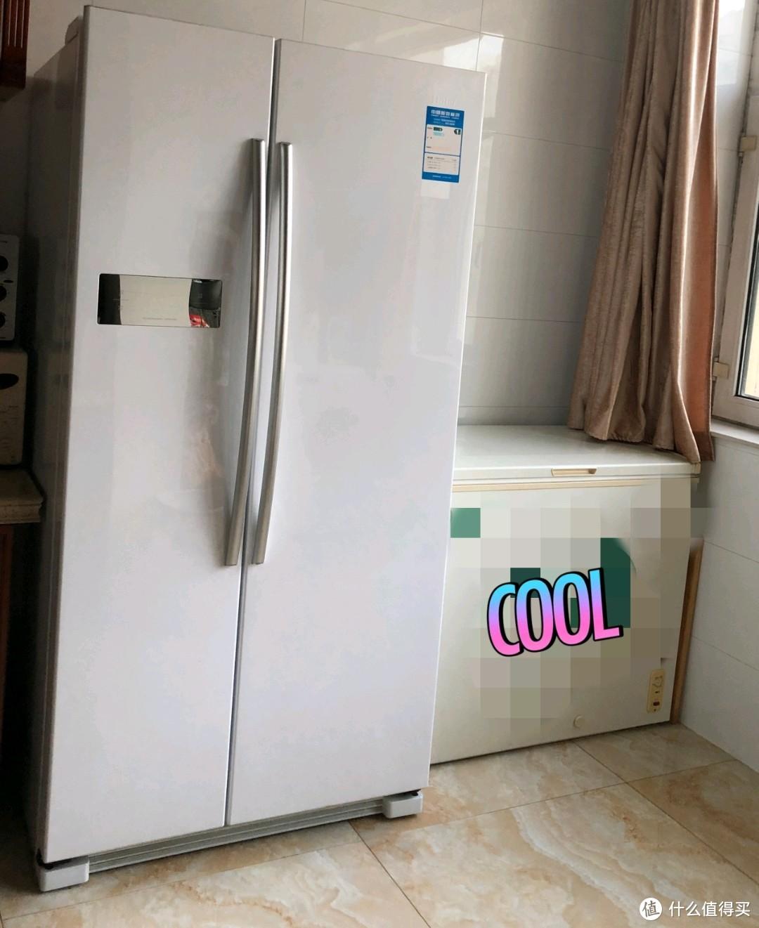 冰箱加冰柜占用面积实在太大
