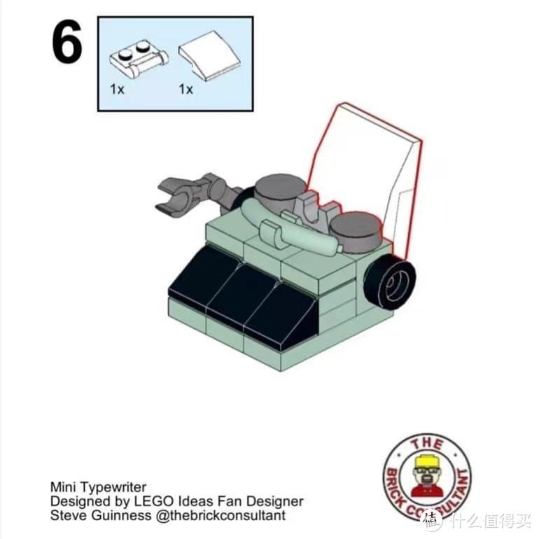 Mini-21327 - mini typewriter