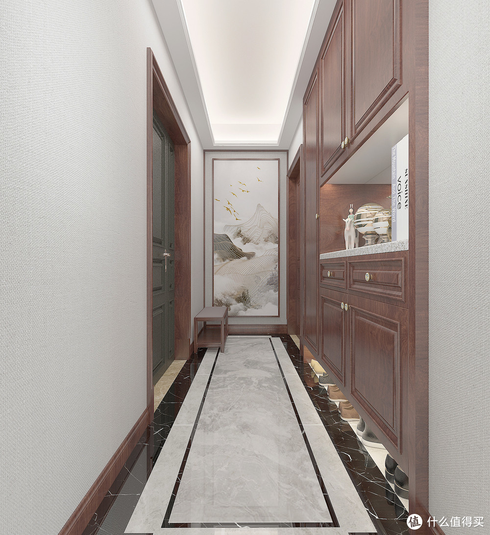 具有轻奢般质感的中式风装修,实在太美!这对夫妻很有远见和品味