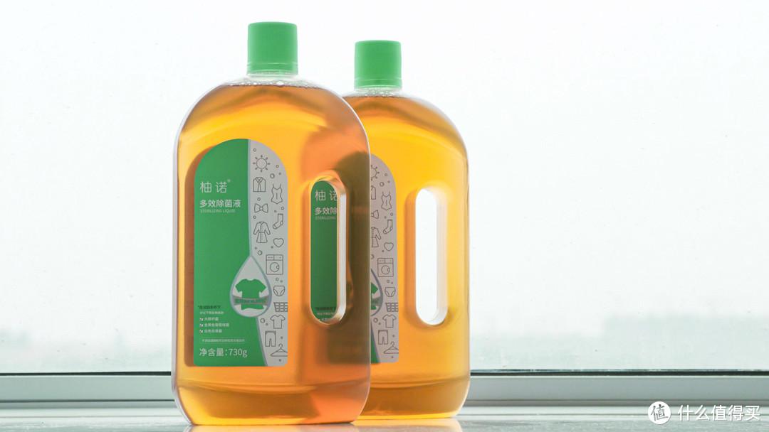 除螨除菌只能开大招:柚诺多效除菌液