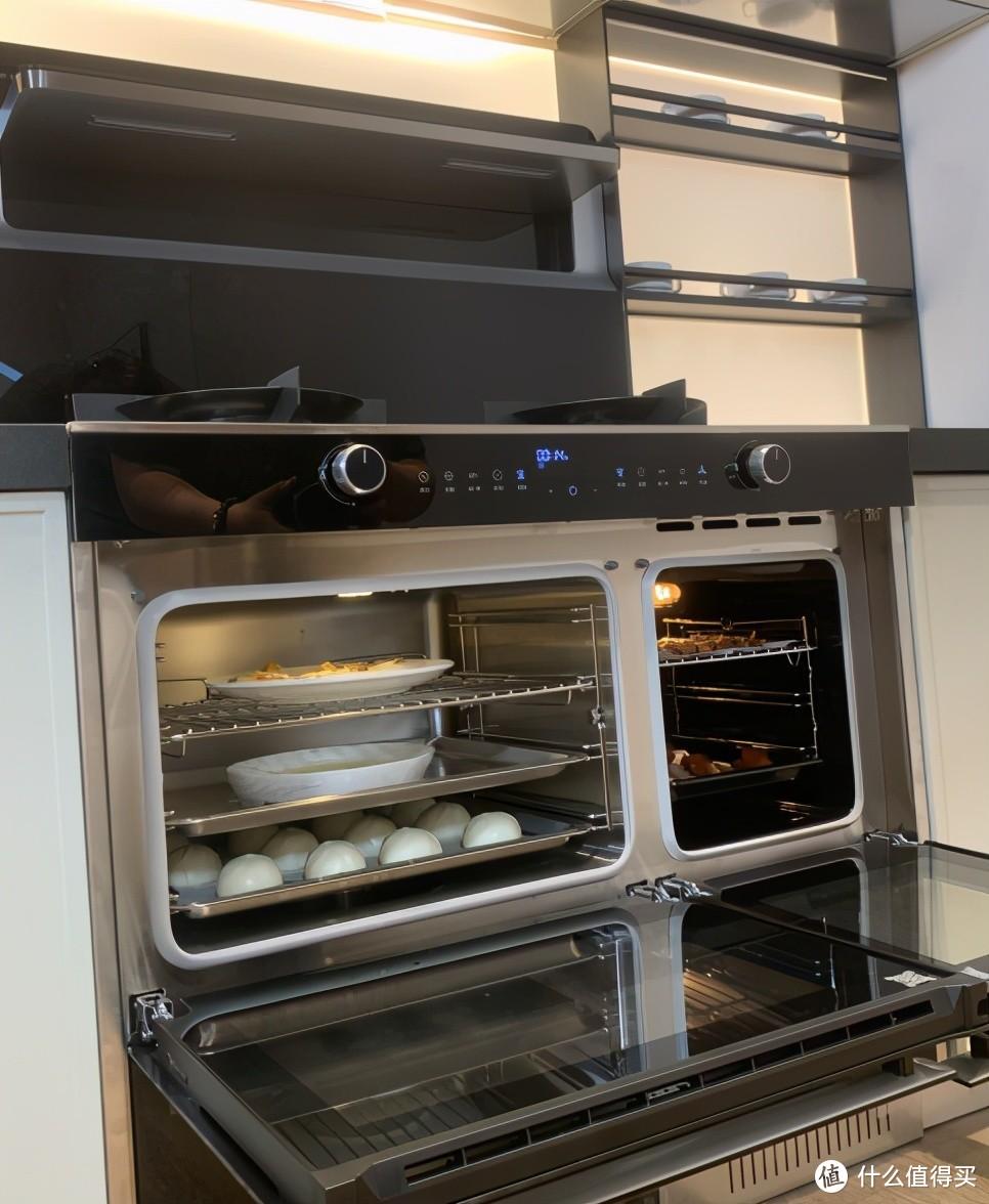 蒸箱和烤箱腔体独立的设计,从根本上杜绝了食物的串味。