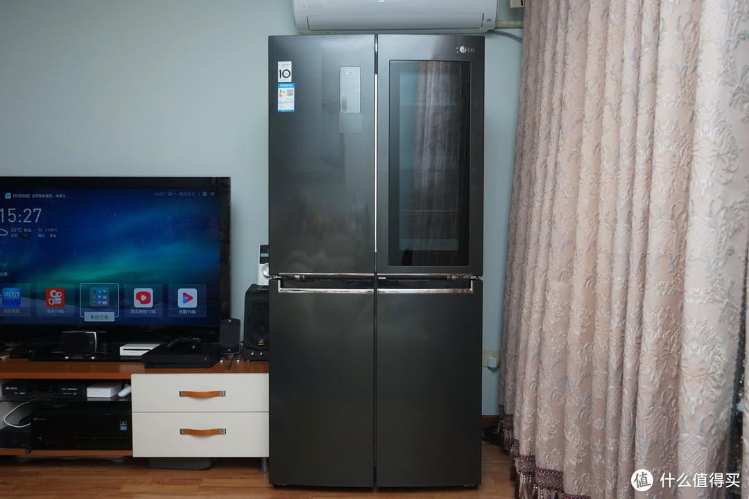 """更鲜更酷:""""咚咚"""",LG敲一敲冰箱,它真的不一样!"""
