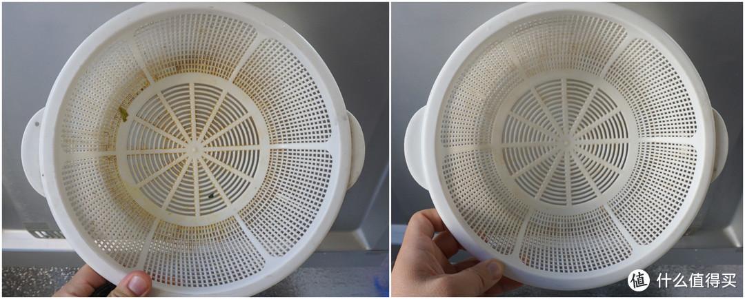 西门子进口13套洗带漏网的洗菜篮的效果对比