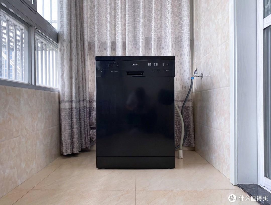 Arda欧洲大容量洗碗机使用体验:只吃饭不洗碗,锅碗瓢盆统统搞定