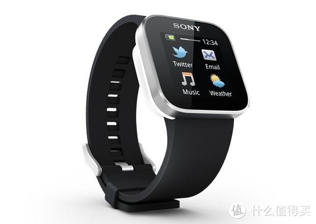 SONY的首款智能手表smart watch