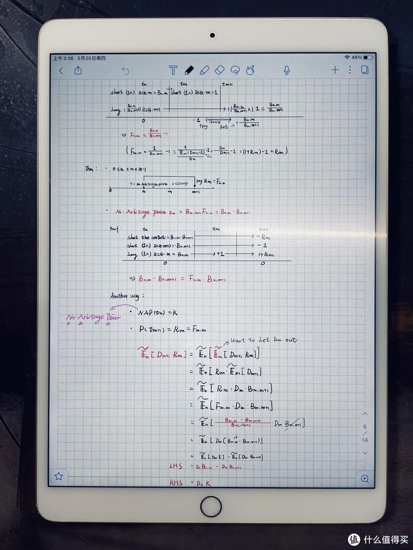 2017款iPad pro 10.5寸 部分课堂笔记展示