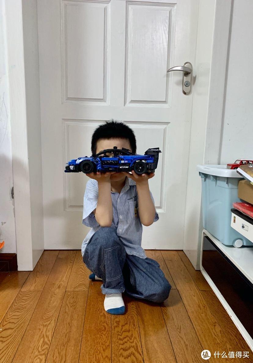 乐高迈凯伦跑车开箱搭建