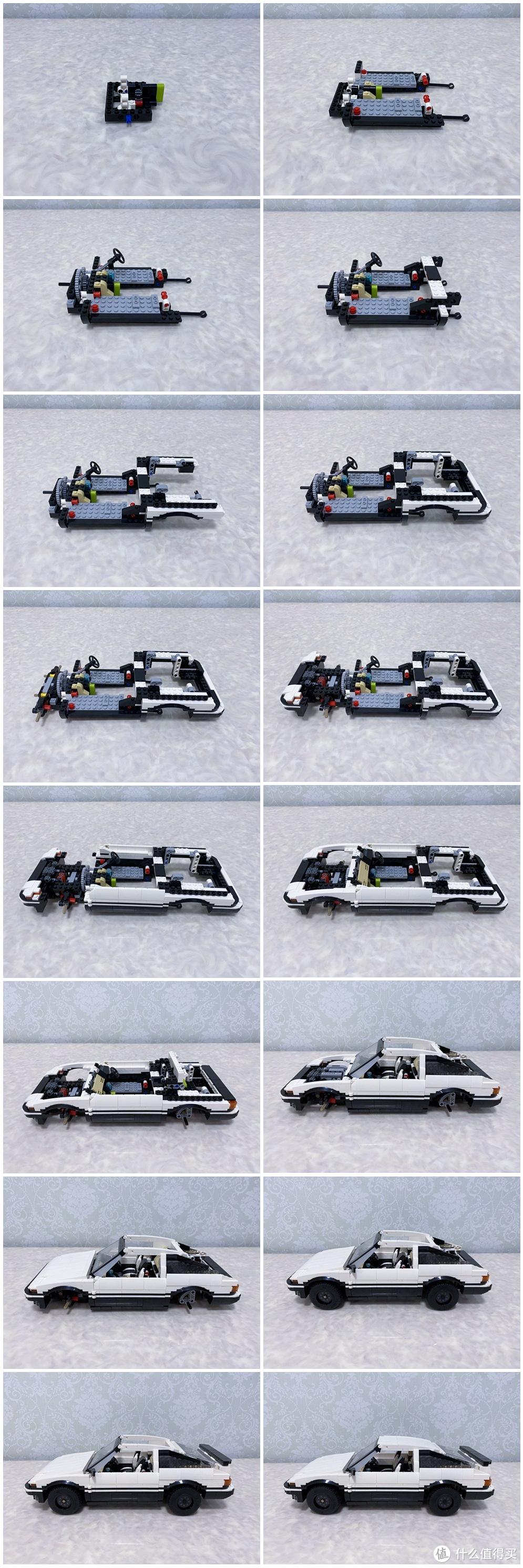 送豆腐的秋名山神车,既是信仰又是情怀!咔搭积木 丰田AE86 拼搭记