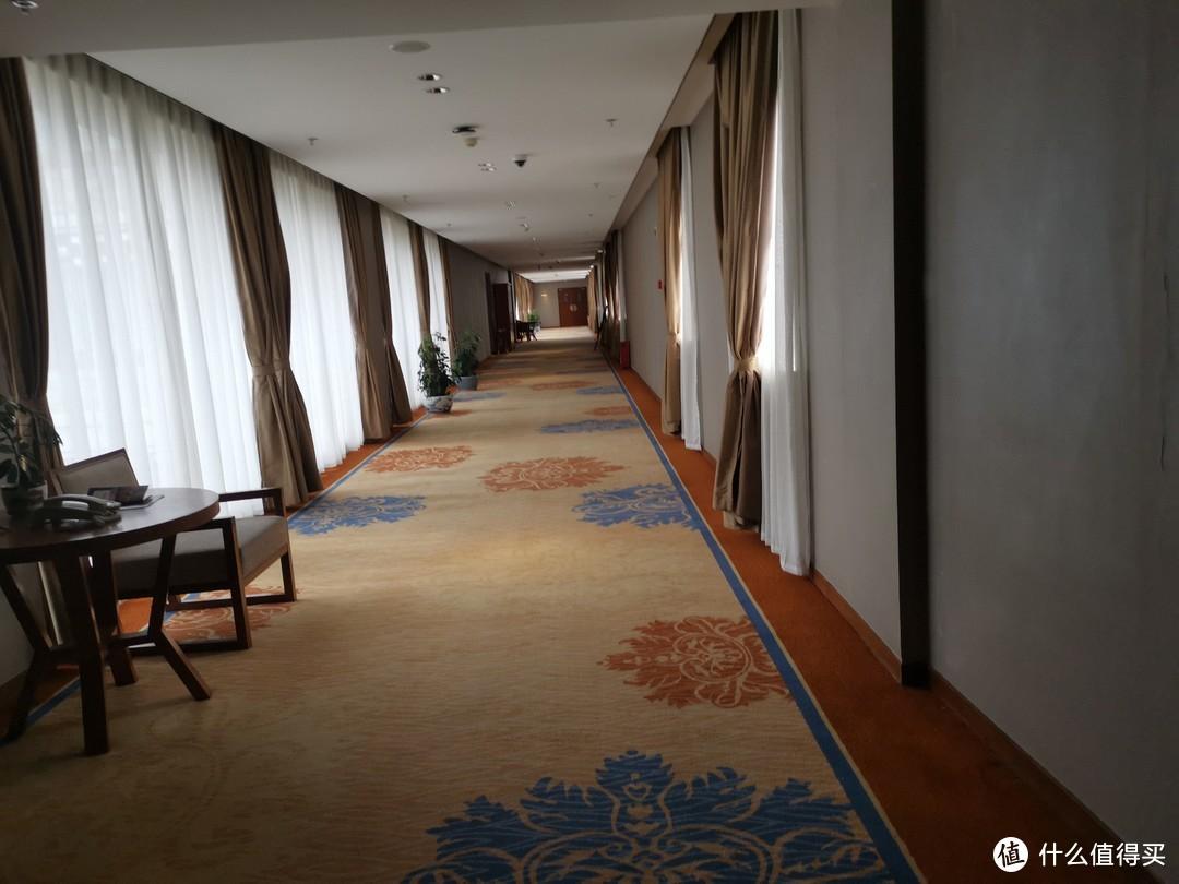 酒店的走廊