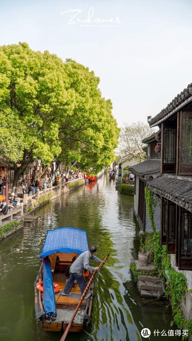 我在中国第一水乡周庄啃大猪蹄子