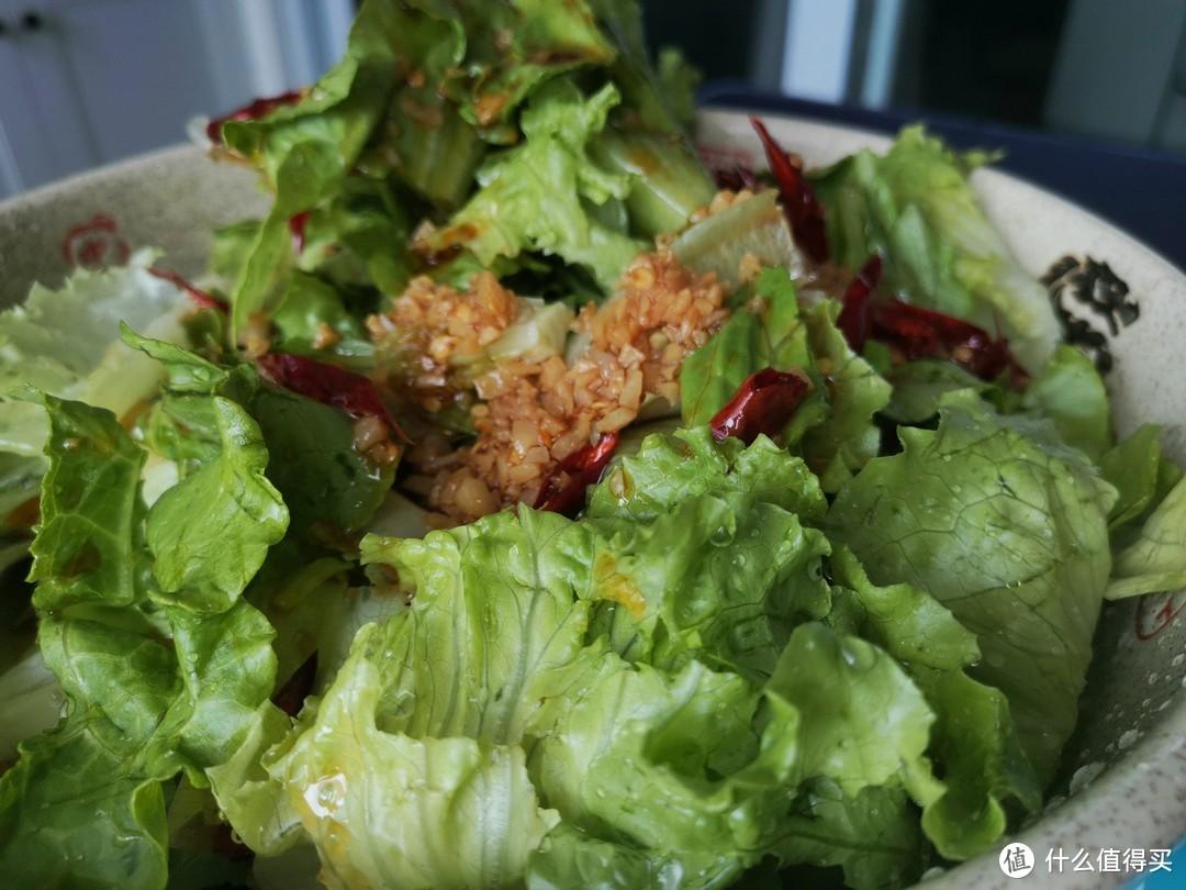 【夏日美食】简单好做还好吃的凉拌生菜!(视频)